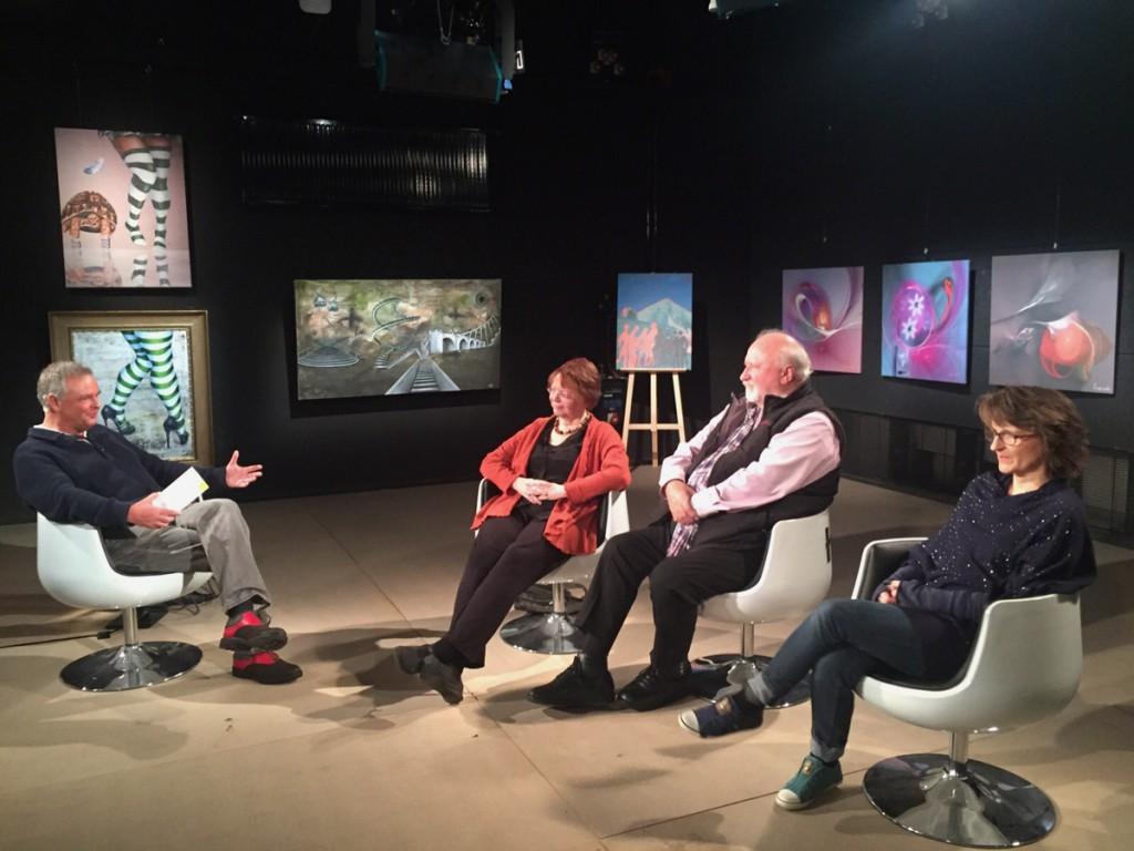 Talk bei Tide TV in der Sendung Was Kunst Du?